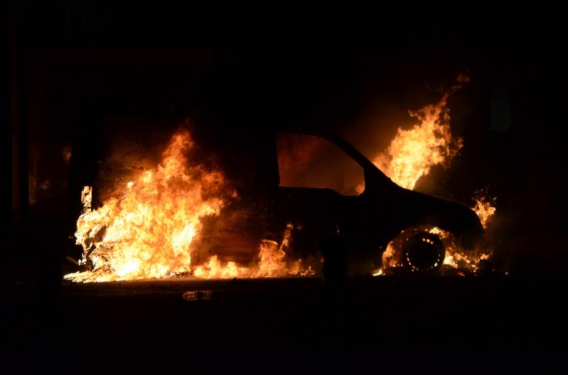 Натрассе Курган-Звериноголовское живьем  сгорел шофёр  «Нивы»