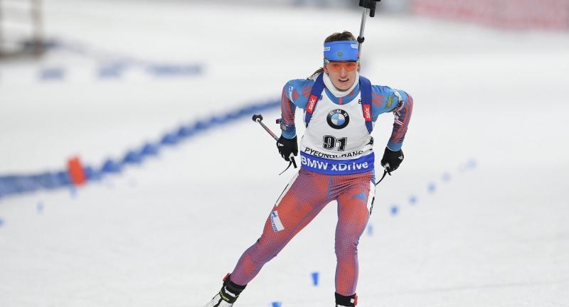 Юрий Шопин стал вторым вспринте начемпионате мира побиатлону