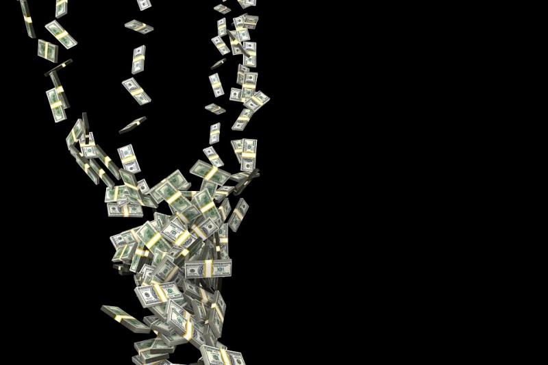 Курс доллара наоткрытии торгов опустился ниже 56 руб.