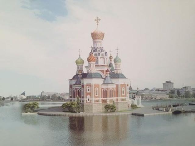 Граждане Екатеринбурга вновь вышли назащиту городского водоема