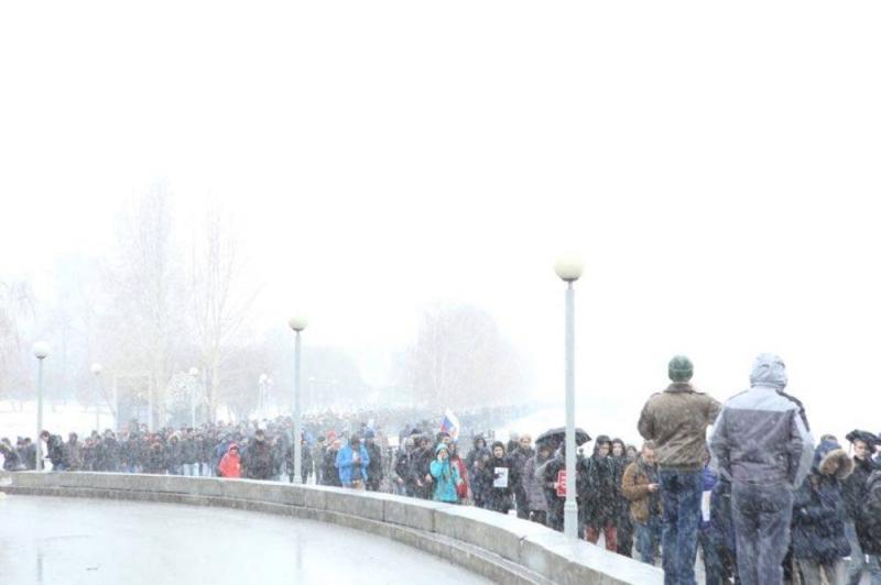 Всубботу Екатеринбург поведут наантитеррористический митинг