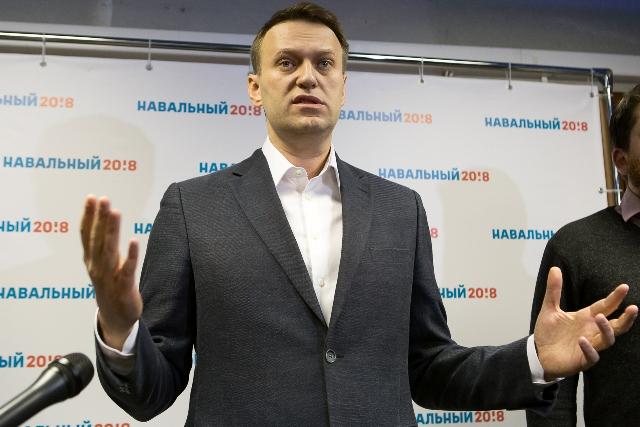 Навальный прилетел вТюмень наофициальное открытие штаба