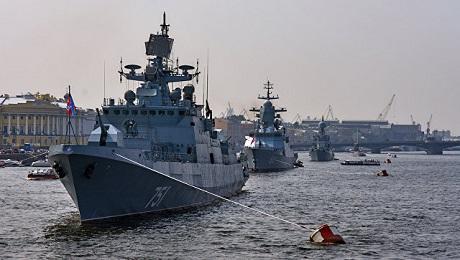 ВПетербурге морской парад вДень Победы отменили