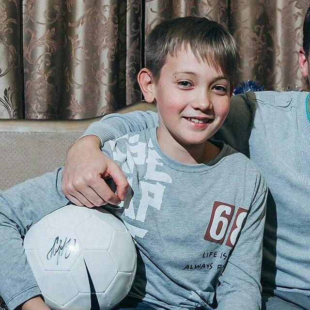 12-летний Даниил Орехов вышел насвязь