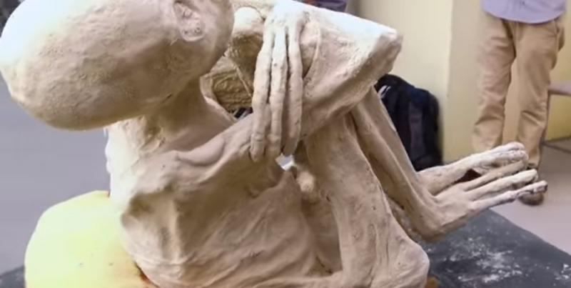 ВПеру найдены останки инопланетянина— Сенсационное видео