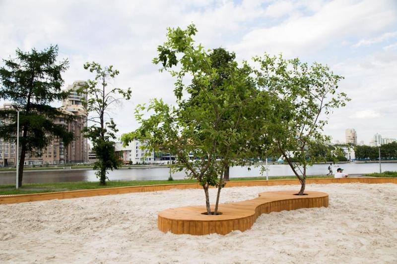 УЕльцин Центра откроется внушительная песочница