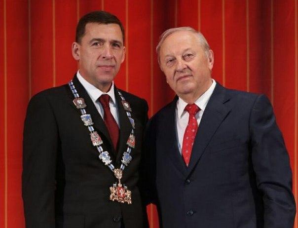 Евгений Куйвашев назначил Эдуарда Росселя членом Совета Федерации