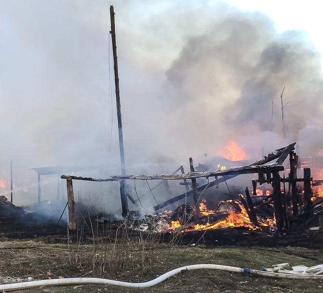 ВГорном Щите в личном доме найден обгоревший труп мужчины