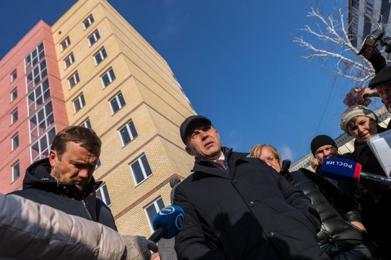 Руководитель свердловского минстроя ипрокуроры встретились спайщиками ЖСК «Авиатор»