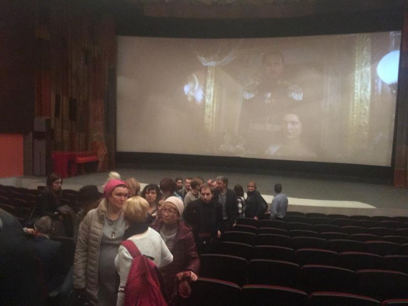 Показ «Матильды» в кинозале «Салют» сорван из-за сообщений оминировании