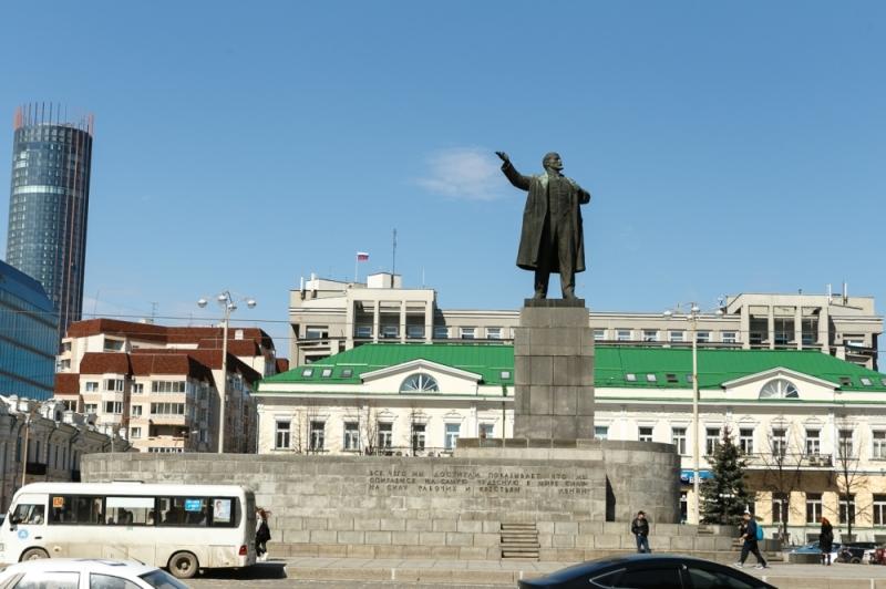 Монумент Ленину вЕкатеринбурге останется без подсветки