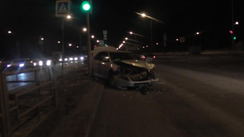 ВЕкатеринбурге вДТП пострадали два человека