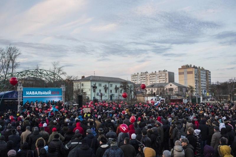 ВЧелябинске закончилась акция Алексея Навального