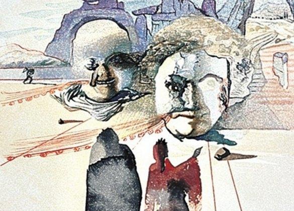 Графические работы Сальвадора Дали, выпущенные ограниченным тиражом, покажут навыставке вЕкатеринбурге