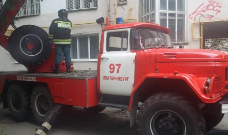 ВЕкатеринбурге из-за пожара были эвакуированы 32 жильца многоквартирного дома