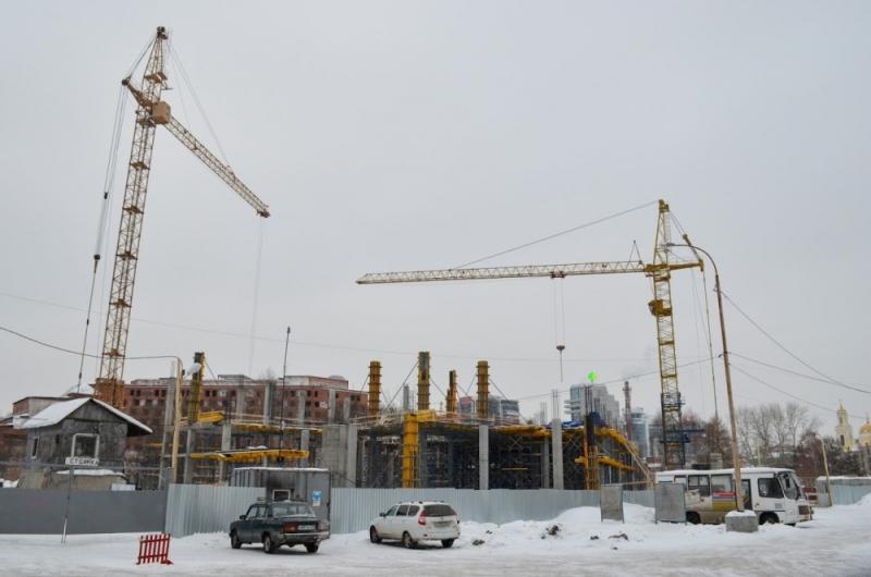 Объемы жилищного возведения вЕкатеринбурге уменьшились на5 процентов