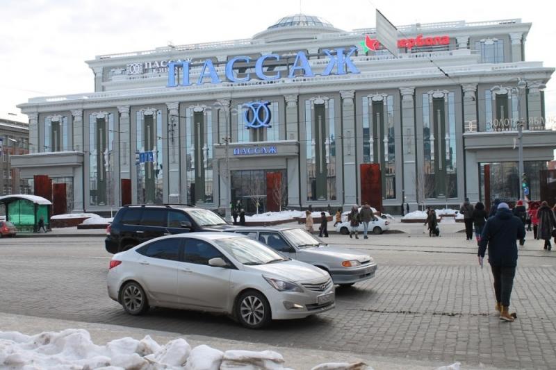 Юрию Демину непонравился «рисунок» для пешеходов напроспекте Ленина