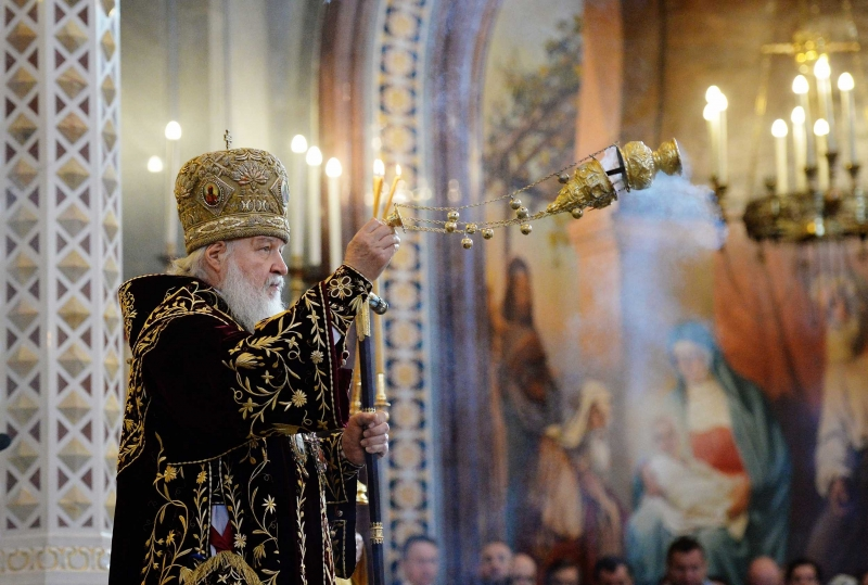 Патриарх Кирилл вознес молитву опобеде русских олимпийцев