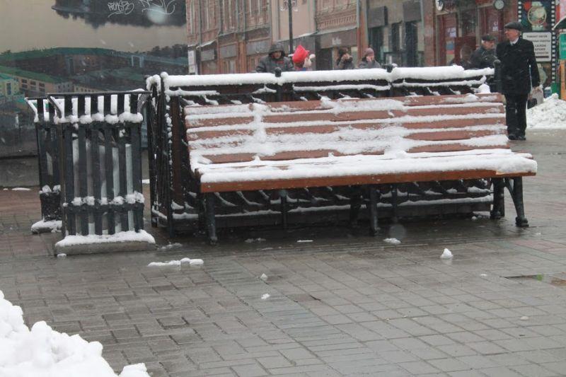 Последствия снегопада вЕкатеринбурге на100% устранят квыходным