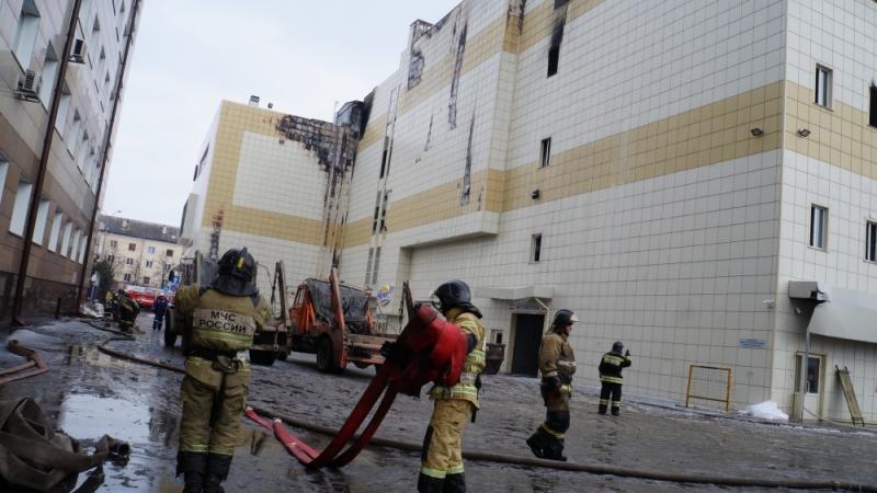 Сродственников погибших впожаре вКемерове берут подписки онеразглашении