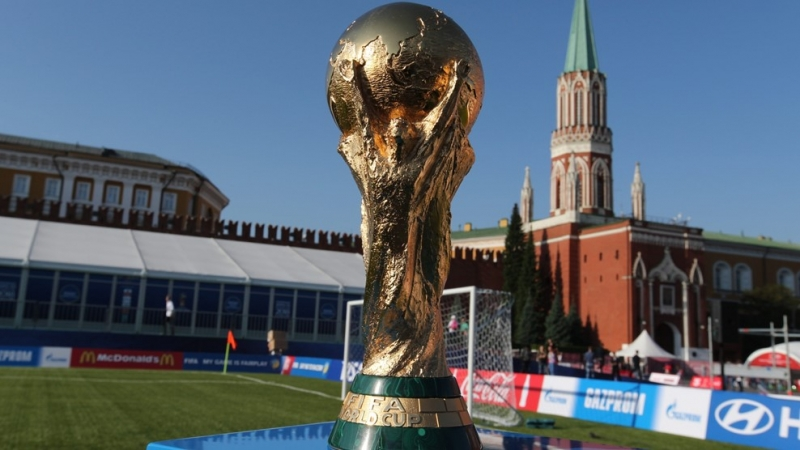 ВНовосибирск привезут Кубок Чемпионата мира пофутболу