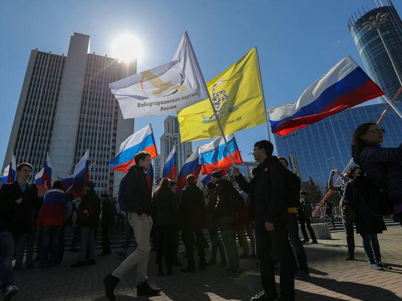 «Единая Россия» против участия молодых людей в неправомерных акциях— Закручивание гаек