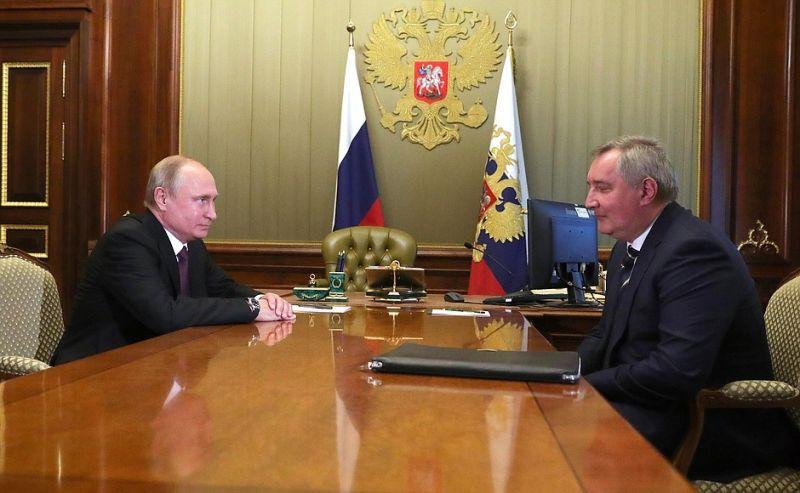Путин отправил Рогозина в«Роскосмос»
