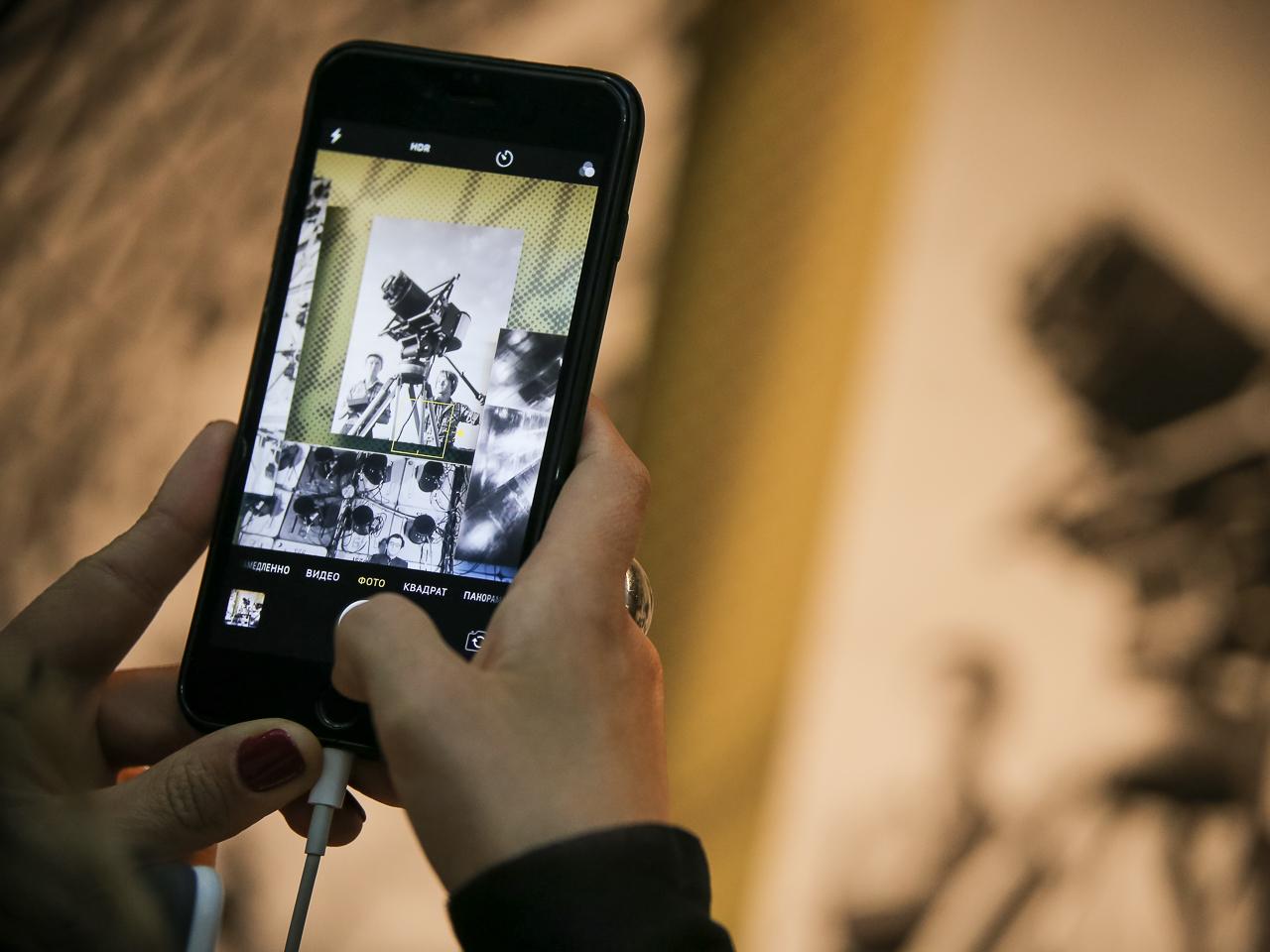 картинки в галерее телефона стали неразборчивы