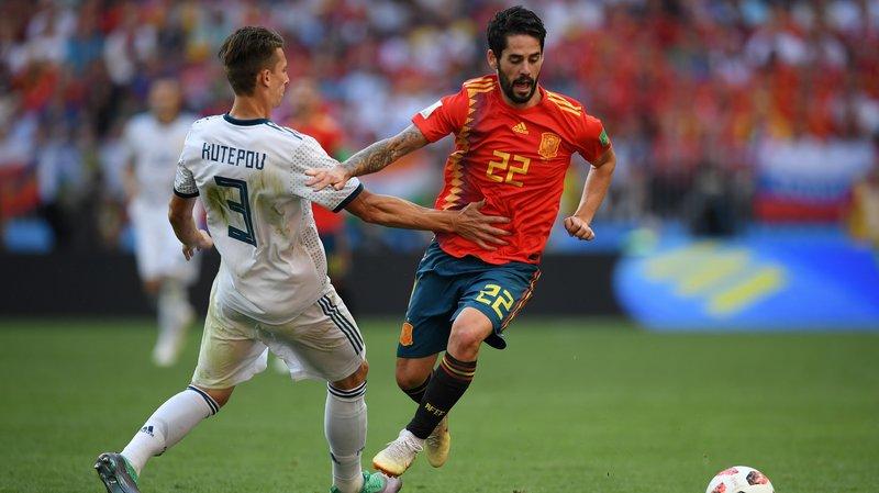 FIFA оштрафовала русского футболиста на600 тыс. руб. после матча сИспанией