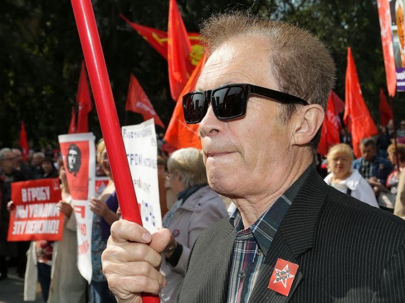 Неменее половины граждан России готовы протестовать из-за пенсионной реформы