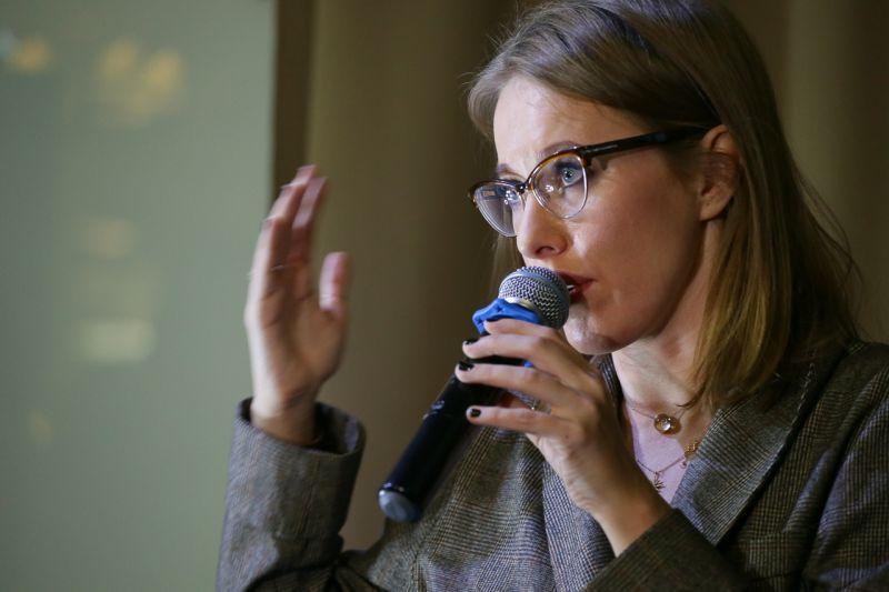 Собчак желает  составить прекрасную конкуренцию  Полтавченко навыборах губернатора
