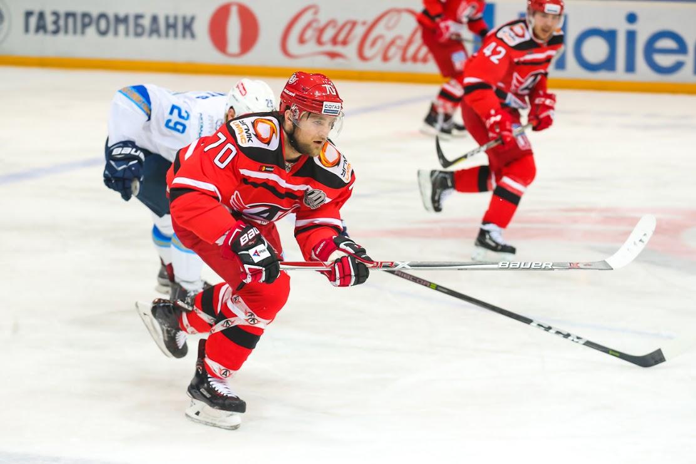 ЕкатеринбургскийХК «Автомобилист» завершил серию домашних игр поражением