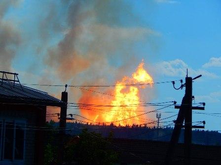 Авария нагазопроводе «Уренгой-Новопсков» произошла вПермском крае
