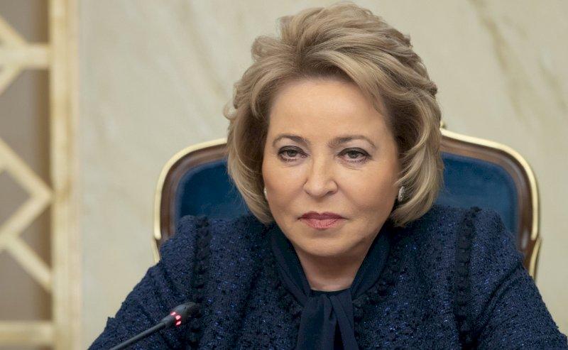 Обнаженная Валентина Матвиенко